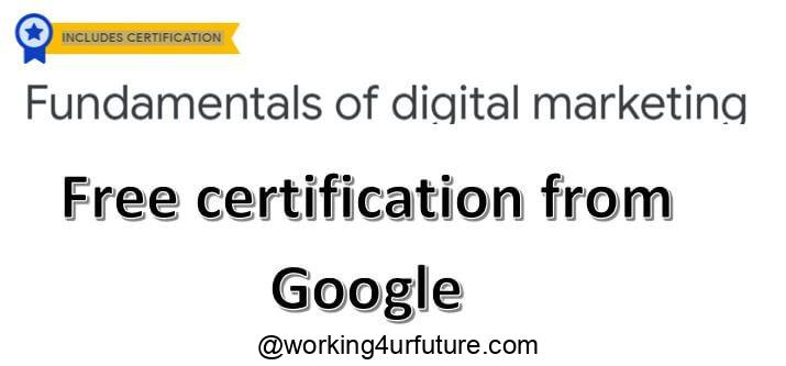 free courses with certificates